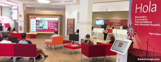 Santander Bank Palma de Mallorca