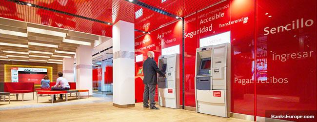 Santander Bank Madrid